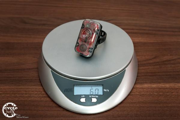 Viel Technik, wenig Gewicht
