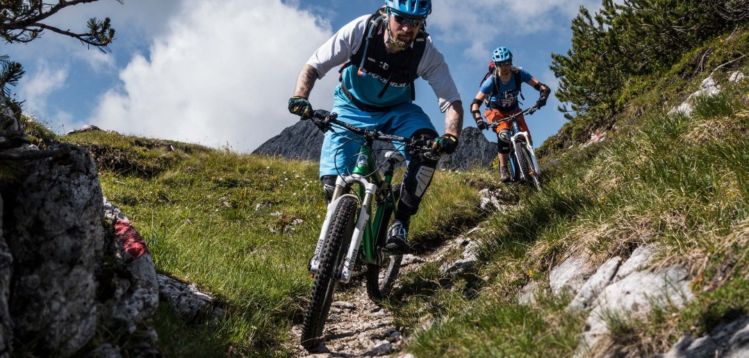 Trails satt in Lenggries