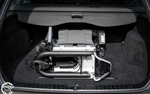 Raumwunder – Der EasyFold im 3er Touring Kofferraum