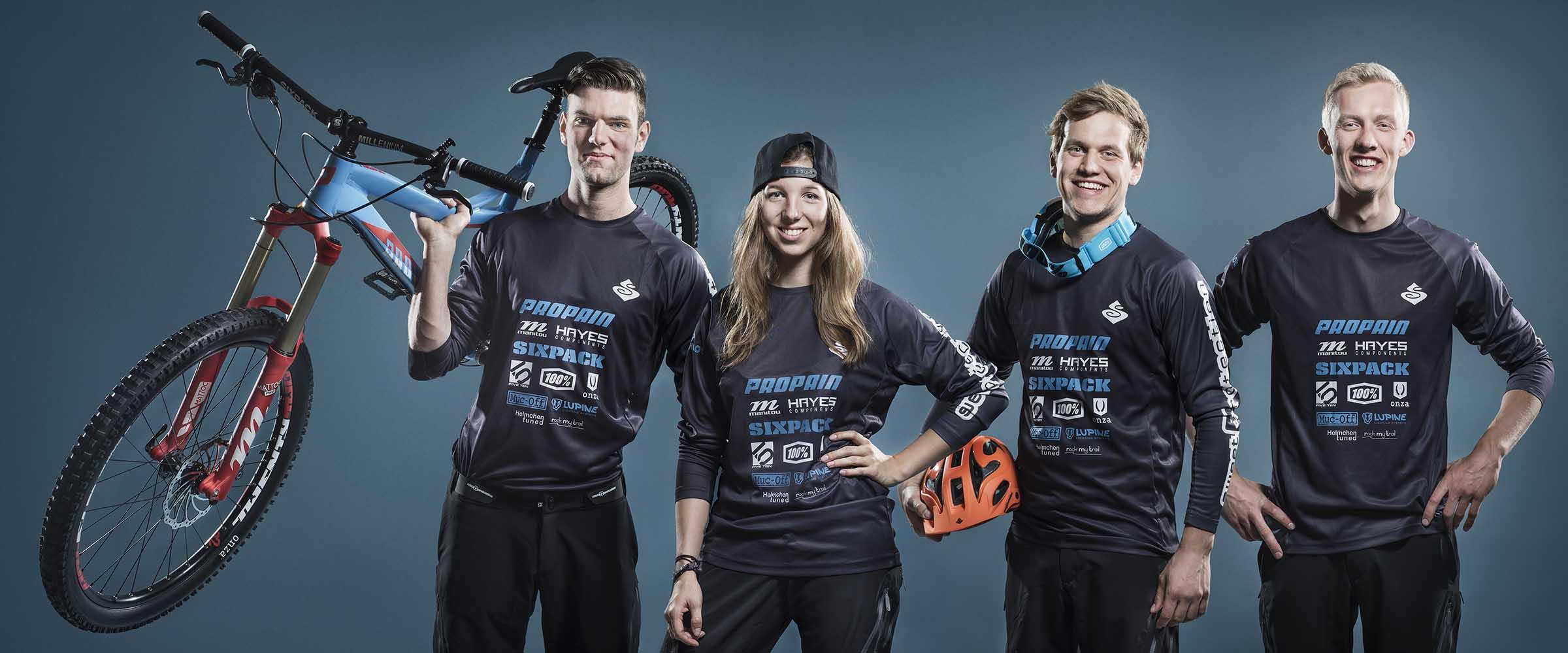 Das Enduro Team