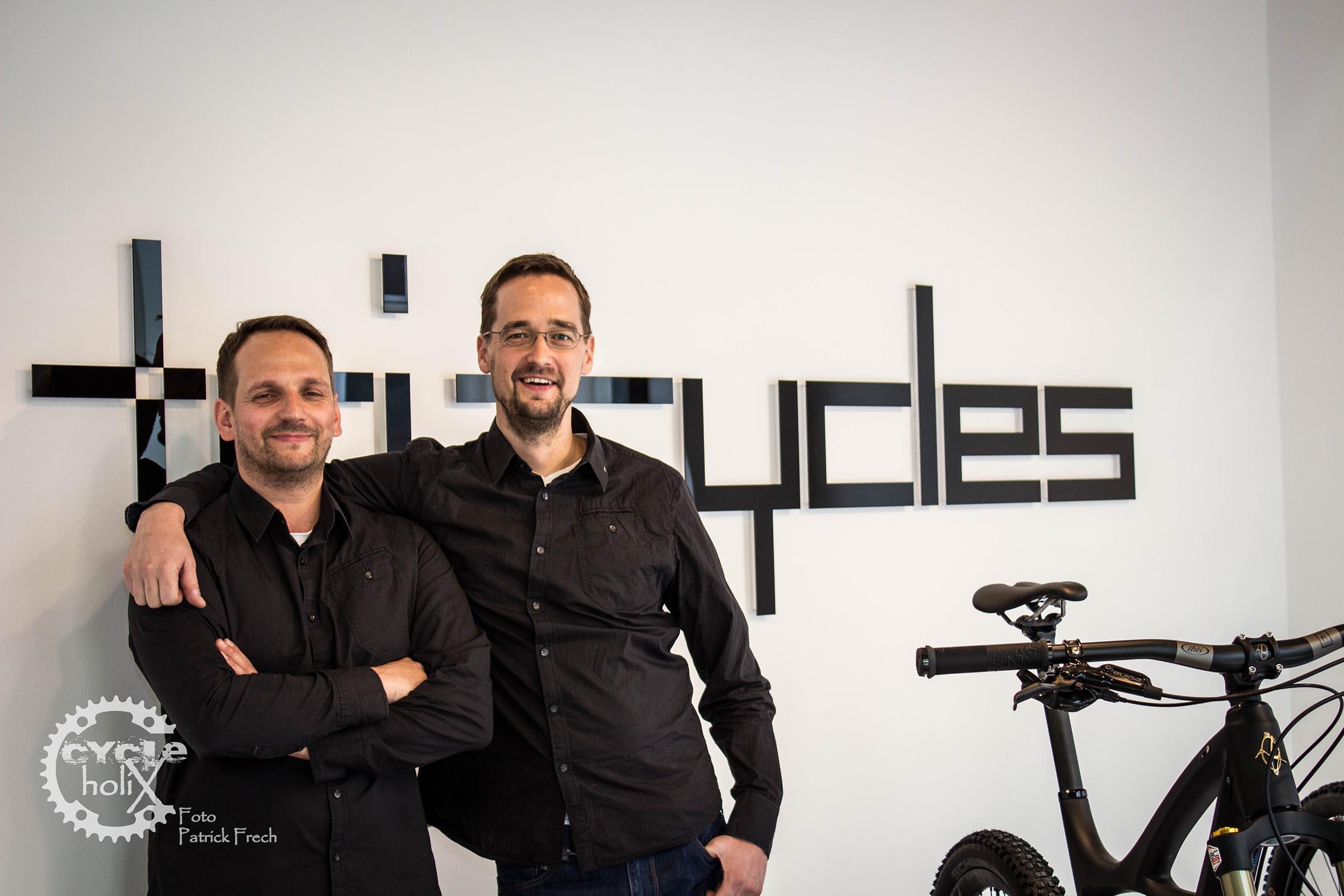 Stefan und Hendrik, die Köpfe hinter Tri-Cycles
