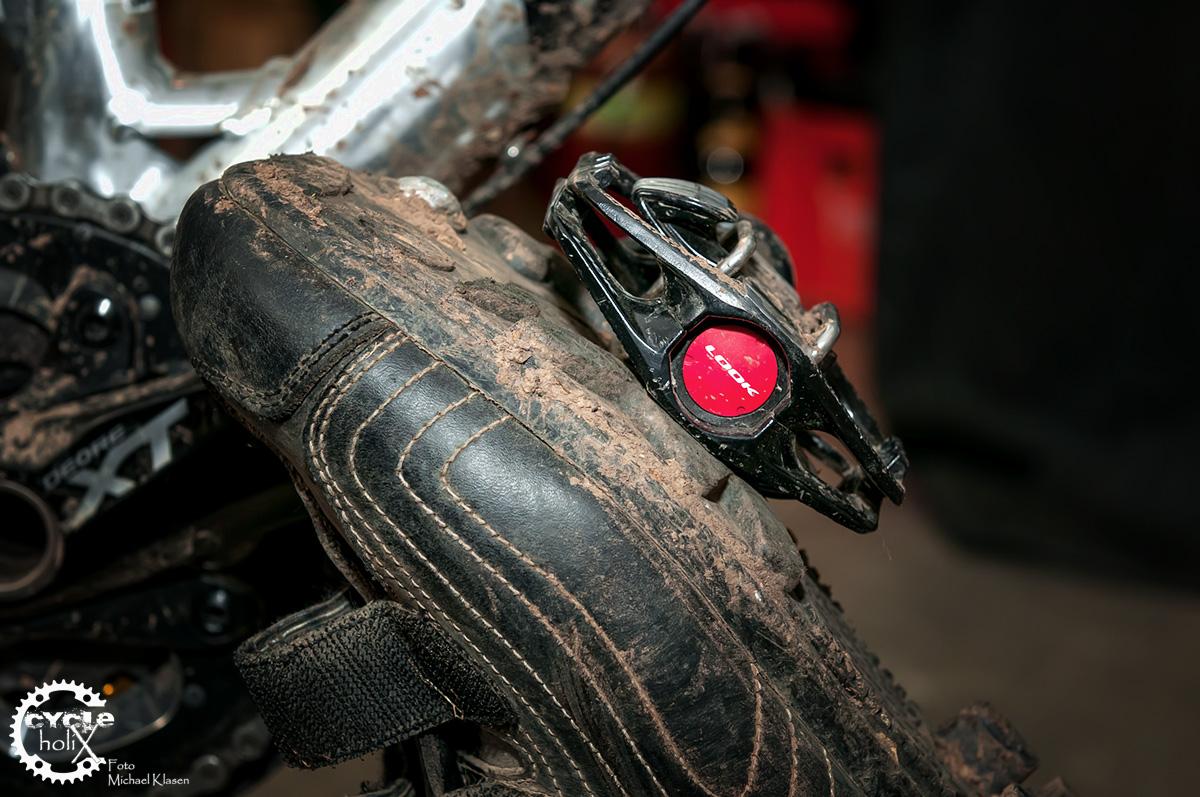 Riesen Kontaktfläche zum Pedal