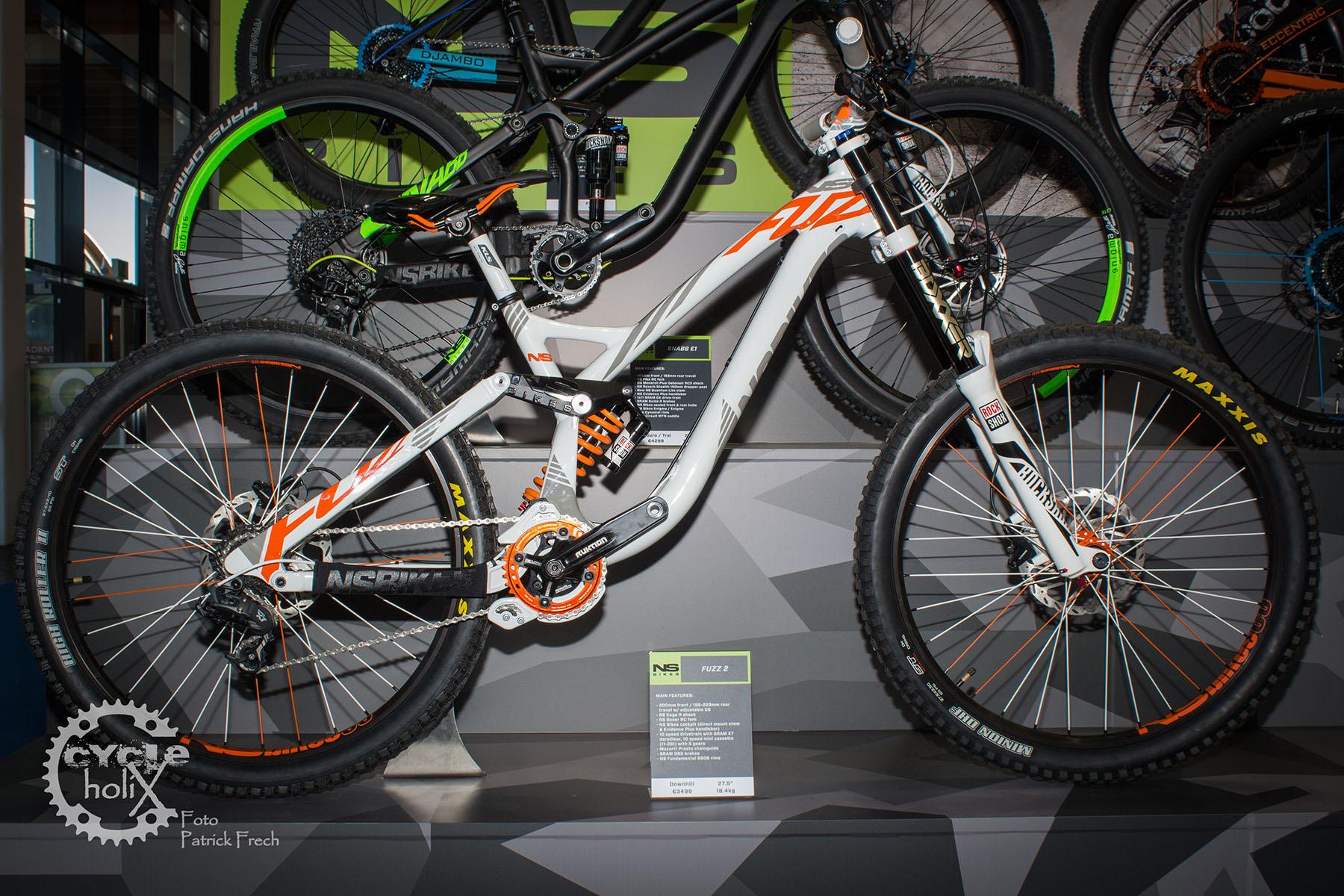 NS Bikes Fuzz wenn´s mal richtig grob werden soll