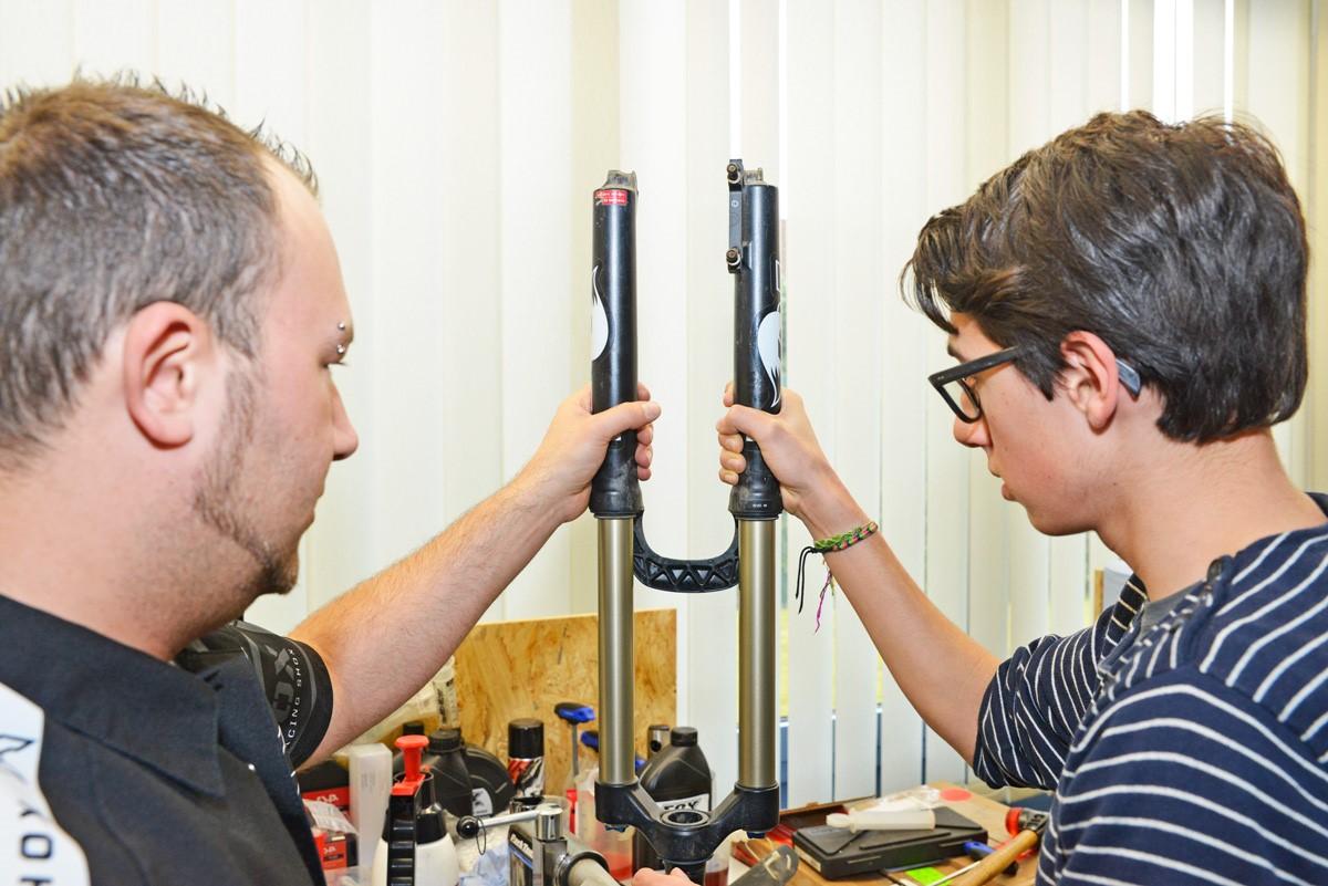 In Workshops kann euer Fachwissen aufpoliert werden