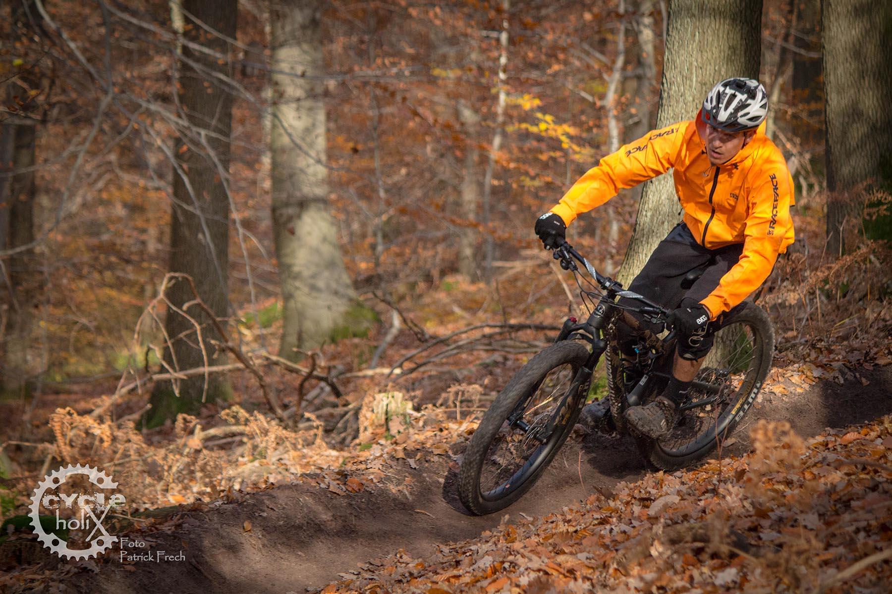 Für den lockeren Trail problemlos einsetzbar