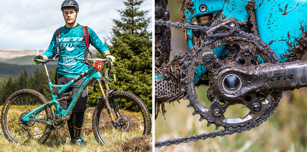 OneUp-Components-Richie-Rude-Bike-heck-Tweedlove-EWS-Chainguide-Narrow-Wide-M9000-Chainring-Comp-1024 copy