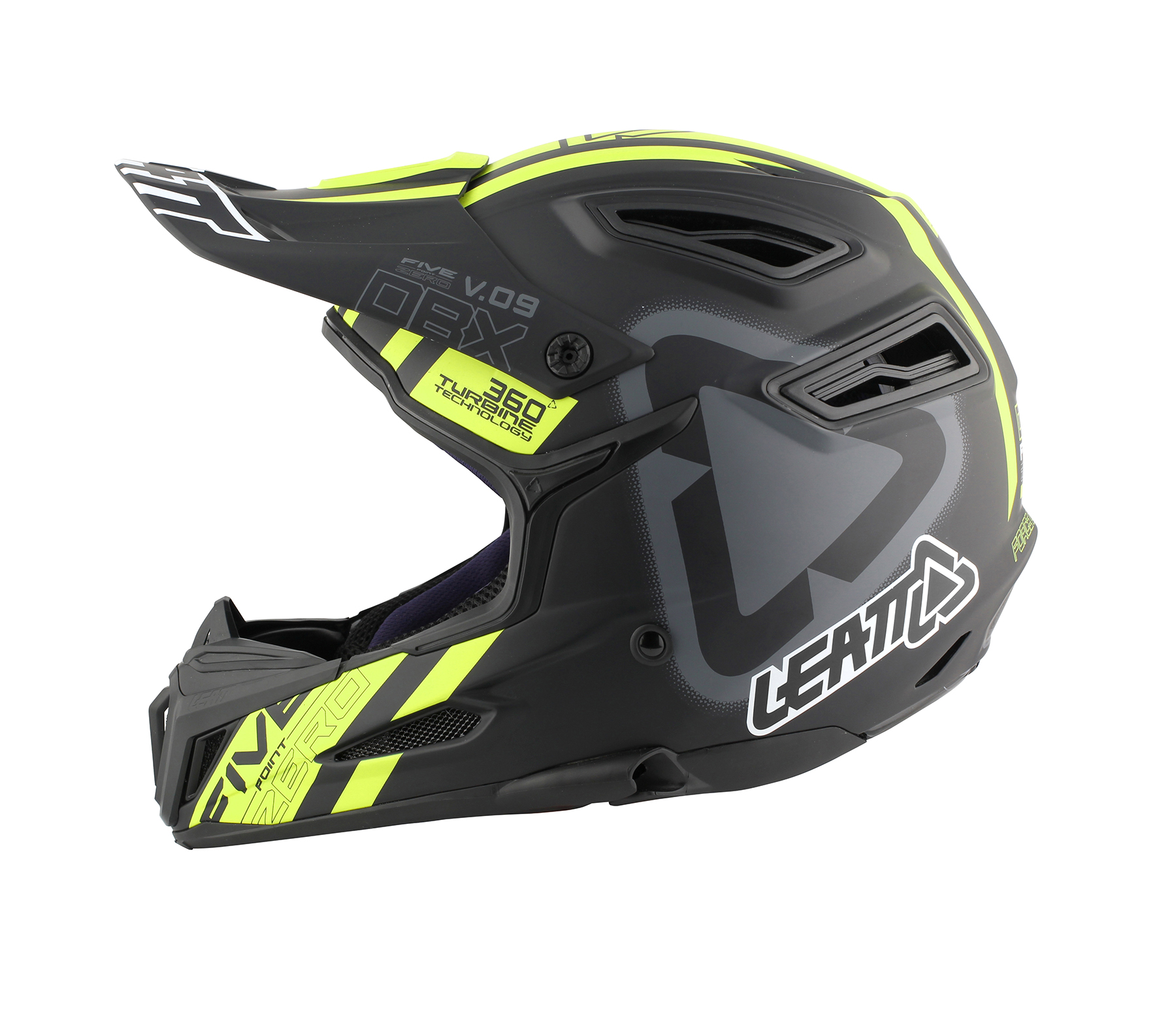Helmet DBX 5.0 V09 Black Yellow 1