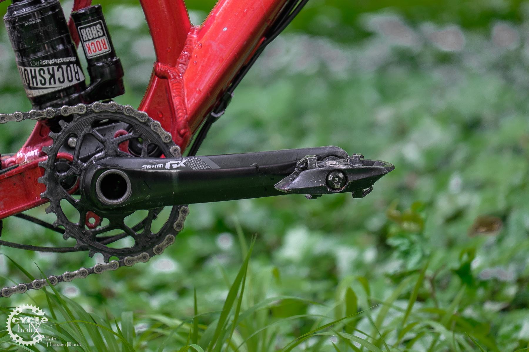 Am Bike montiert - iSSi Trail macht eine schlanke Figur