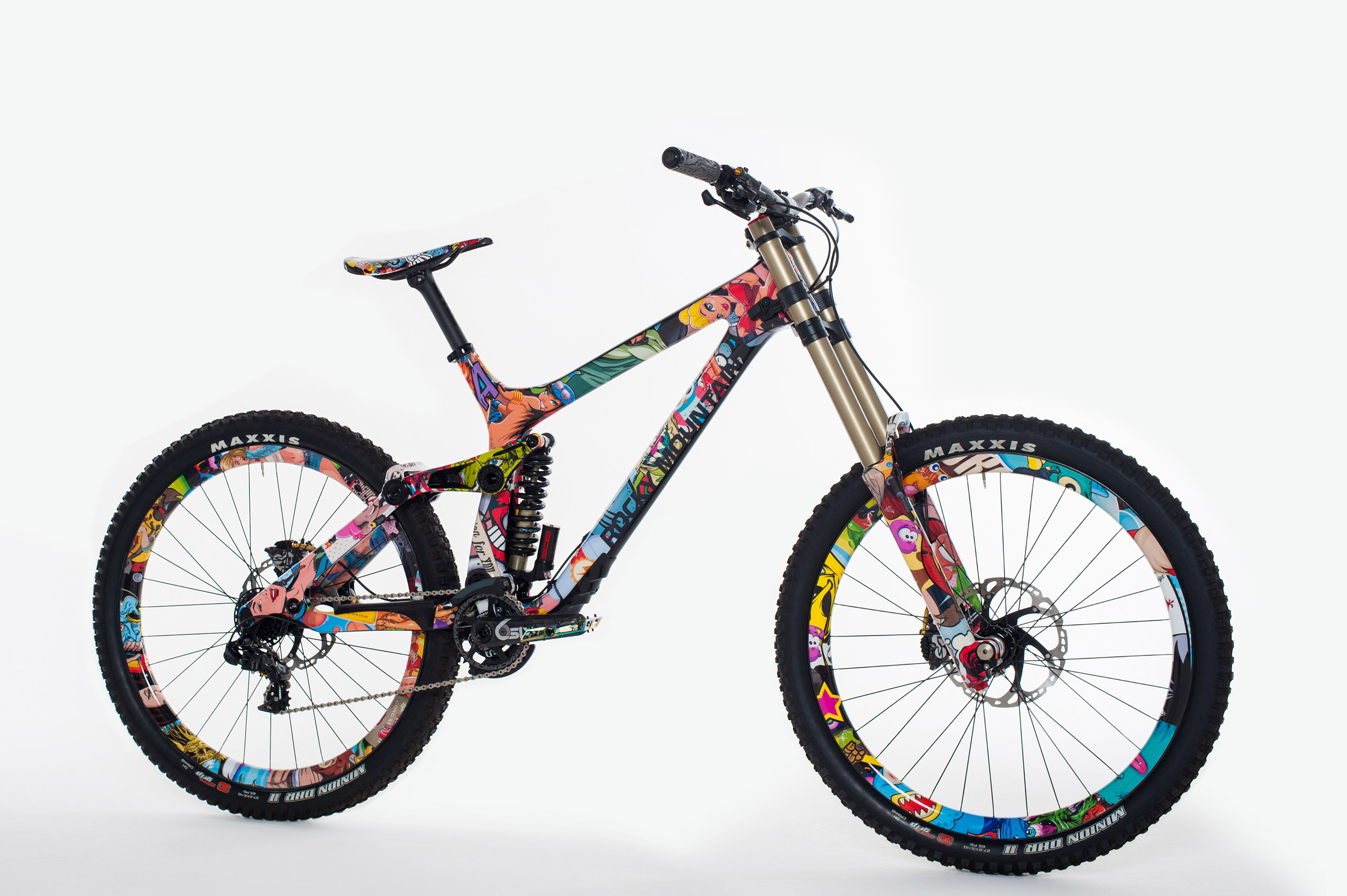 Custom Bicycle Paint Ideas