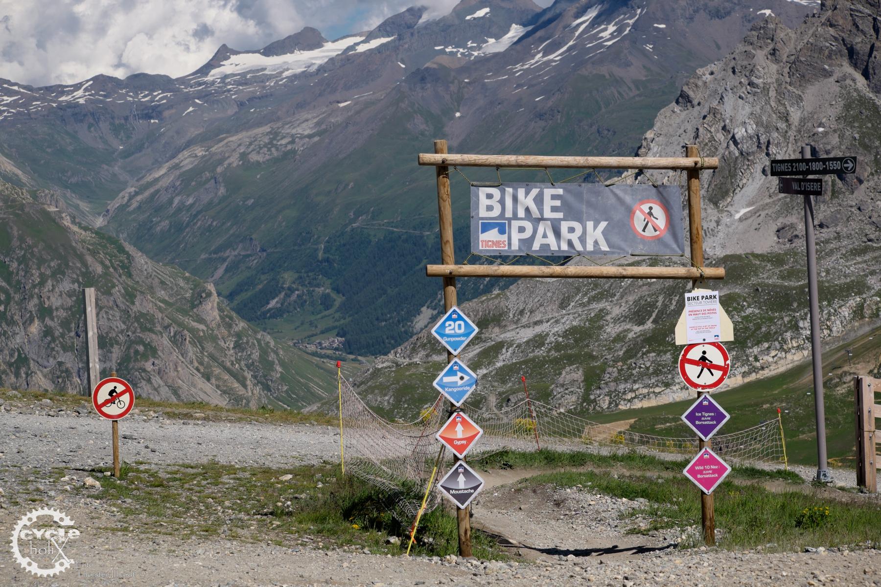 Getrennte Wege für Bikepark und Wanderer
