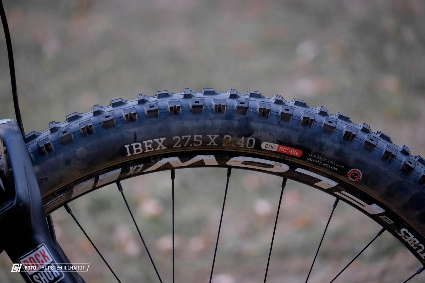 Onza IBEX 45a vorn...