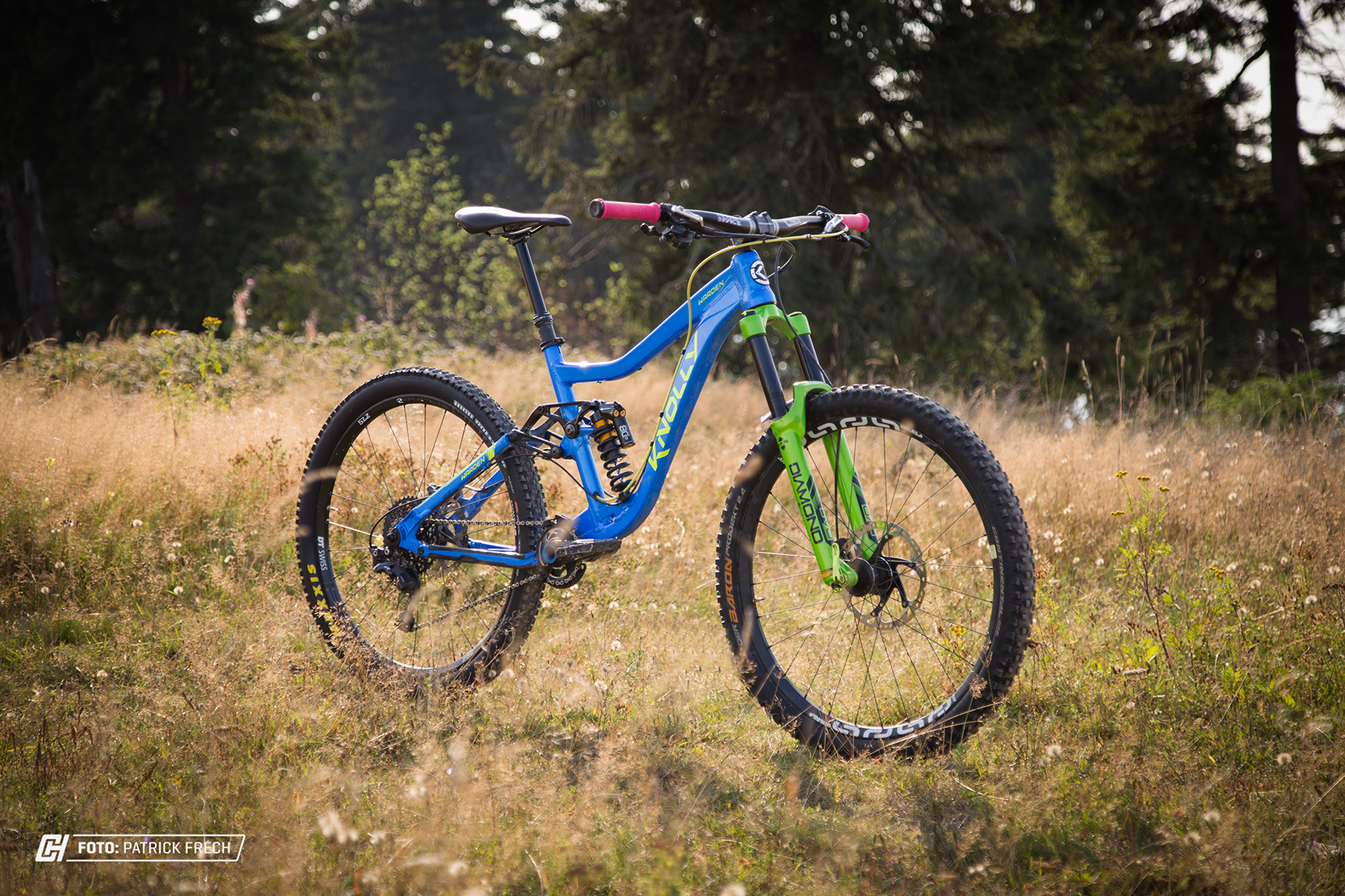 Der Cane Crrek Double Barrel Coil CS in unserem Testbike