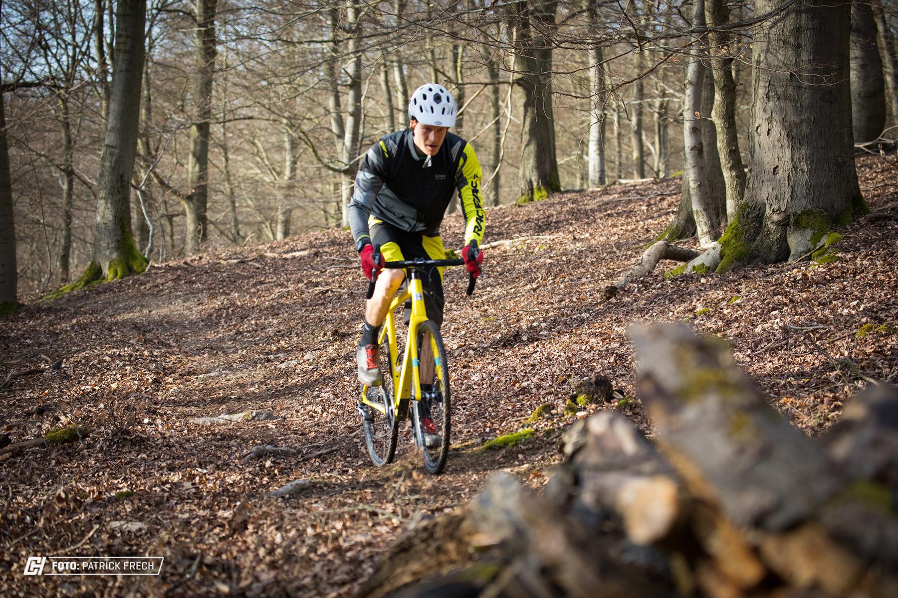 geht gut im Gelände uns ist laut Santa Cruz das Gravel Bike für Mountainbiker.