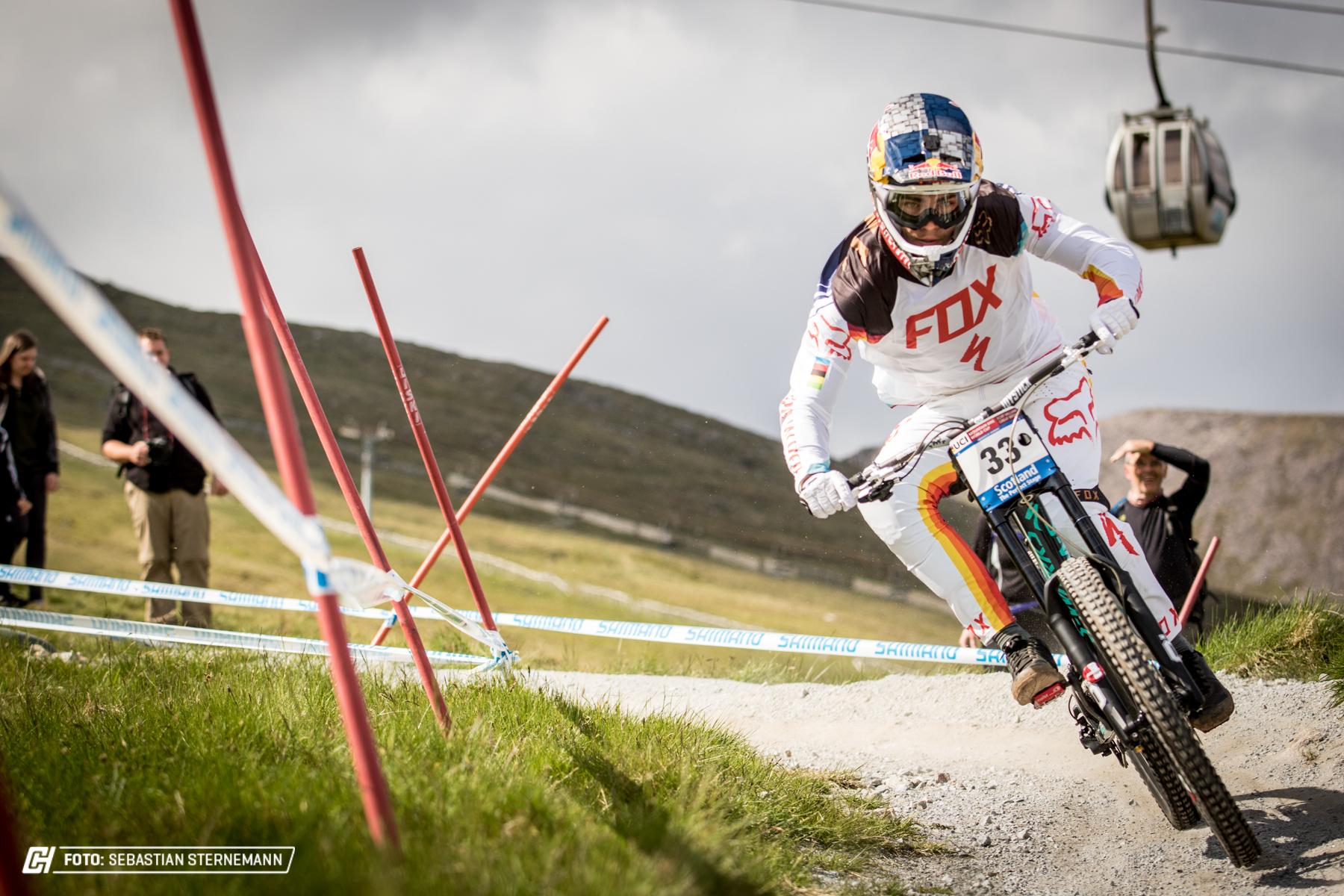 Loic Bruni hatte kein direktes Pech, aber mit den Bedingungen der Strecke zu kämpfen.