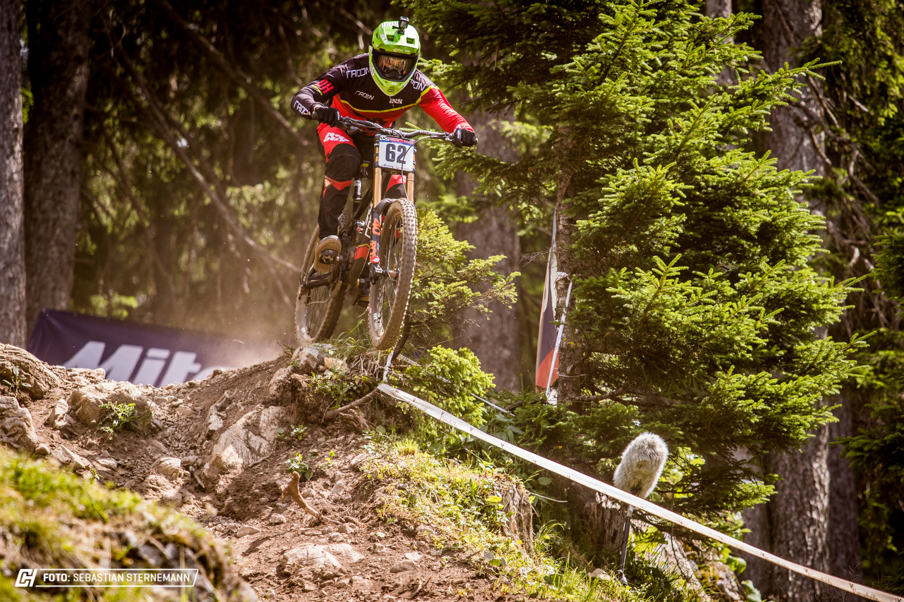 Johannes Fischbach sicherte sich in der Quali einen guten 21. Platz.