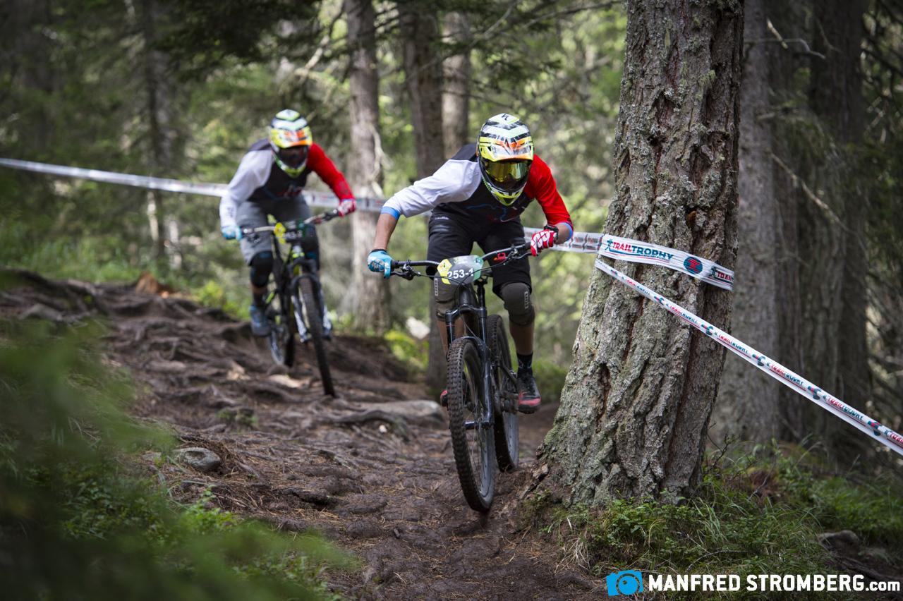 05 Als Duo Team im 3Länder Trail unterwegs