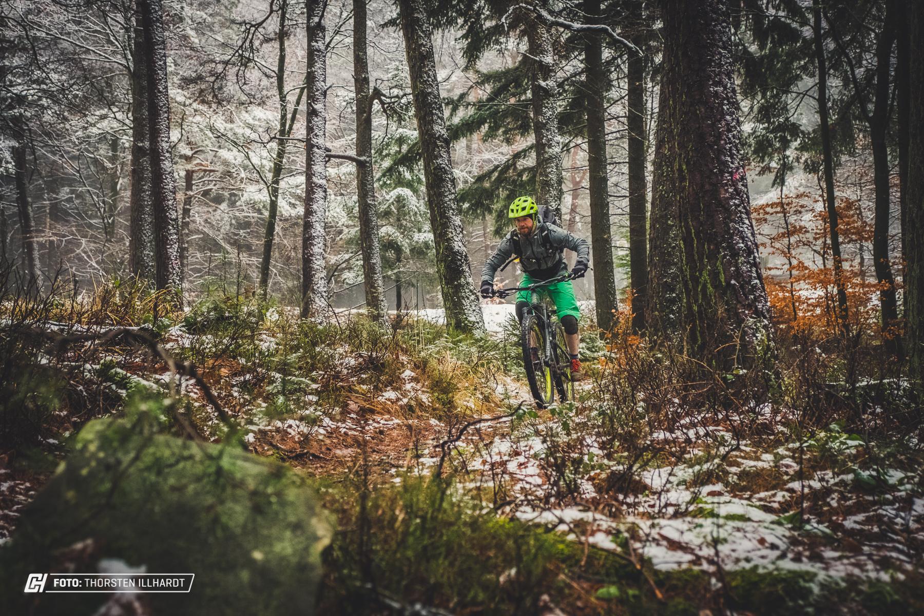 Das Trailbanger ist im Sommer wie im Winter ein treuer Begleiter.