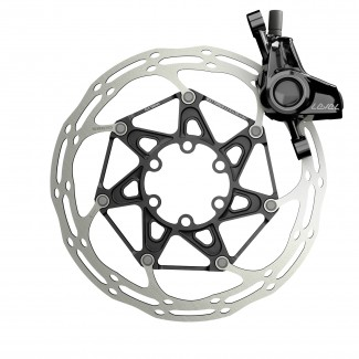 SM Level Ultimate Caliper Rotor Front Black M