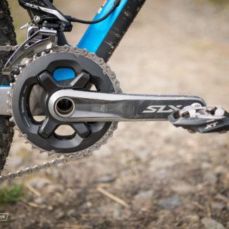 Shimano SLX Kurbeln und Umwerfer