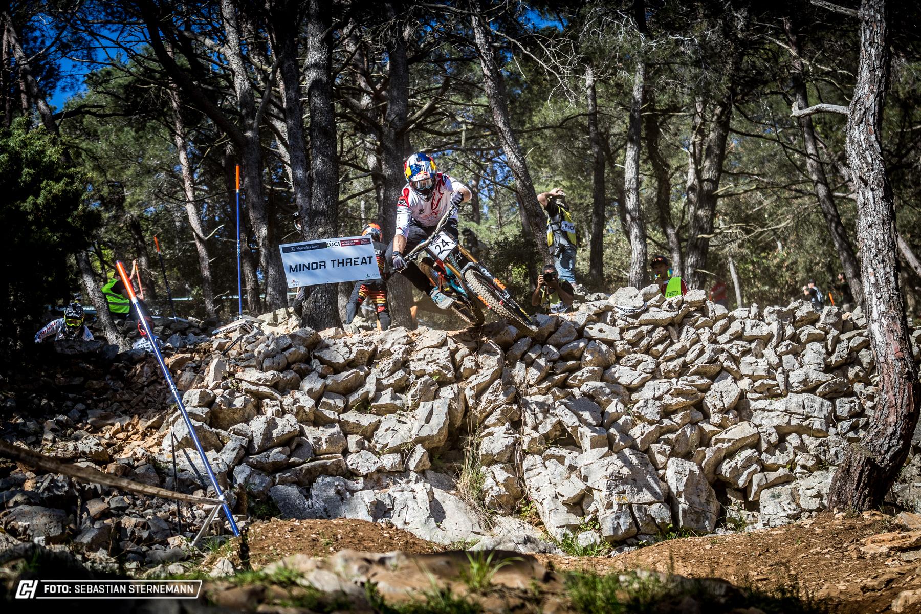 UCI Downhill Worldcup 2018 Losinj