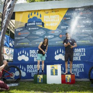 Gesamtsieger Enduro Race Dolomiti Paganella