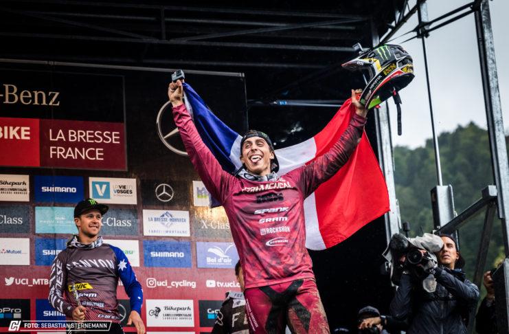 UCI Downhill World Cup La Bresse 2018
