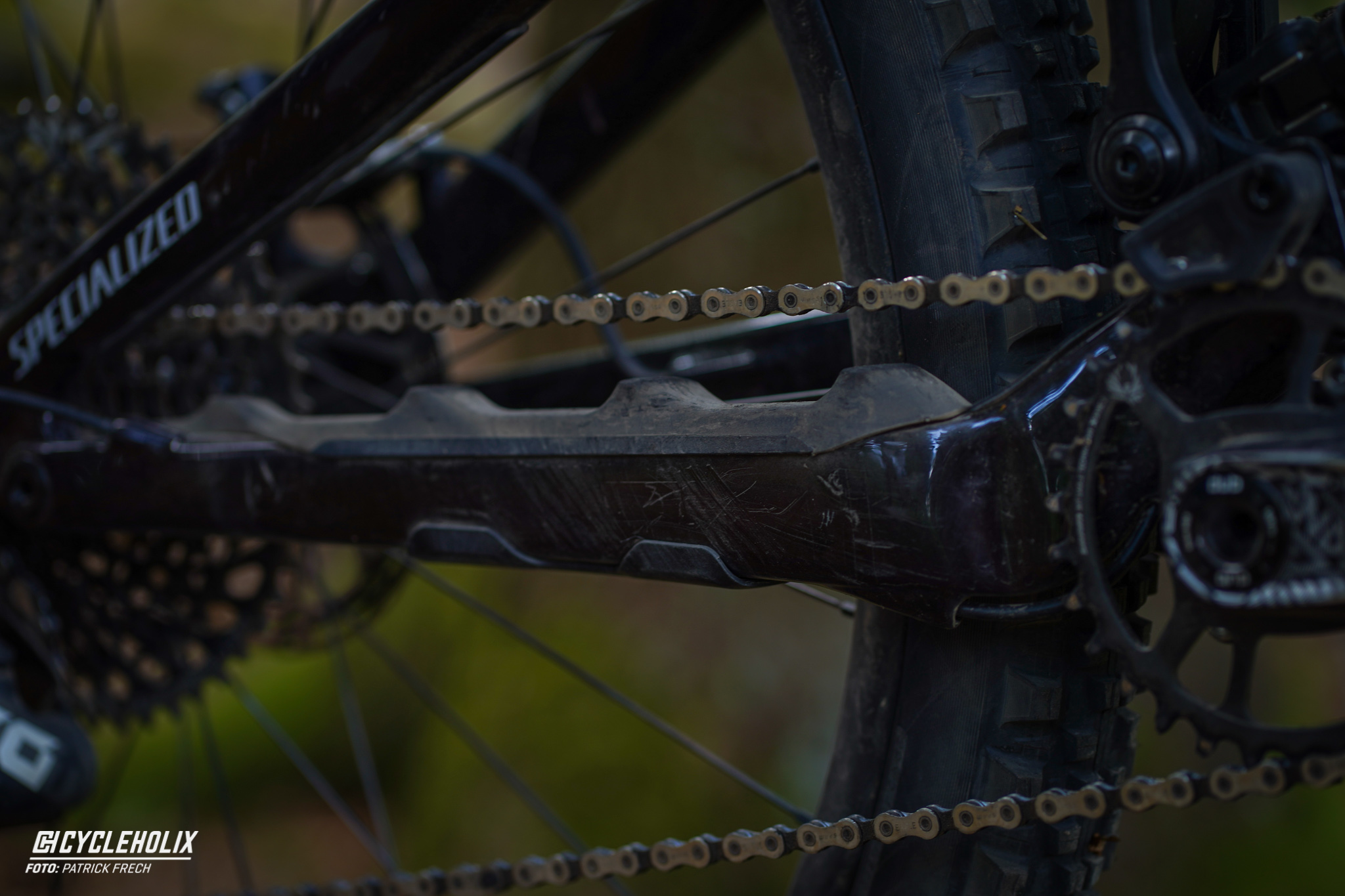 Specialized Enduro Expert 2020 - chain stay protector