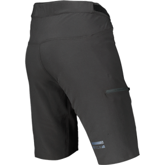 Leatt Shorts MTB 1.0 Black BackLeft 5021130340