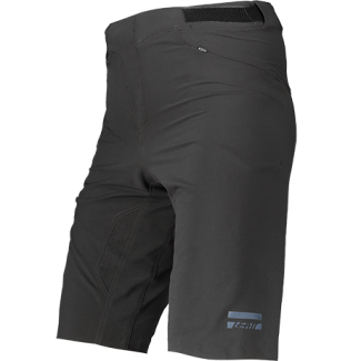 Leatt Shorts MTB 1.0 Black FrontLeft 5021130340