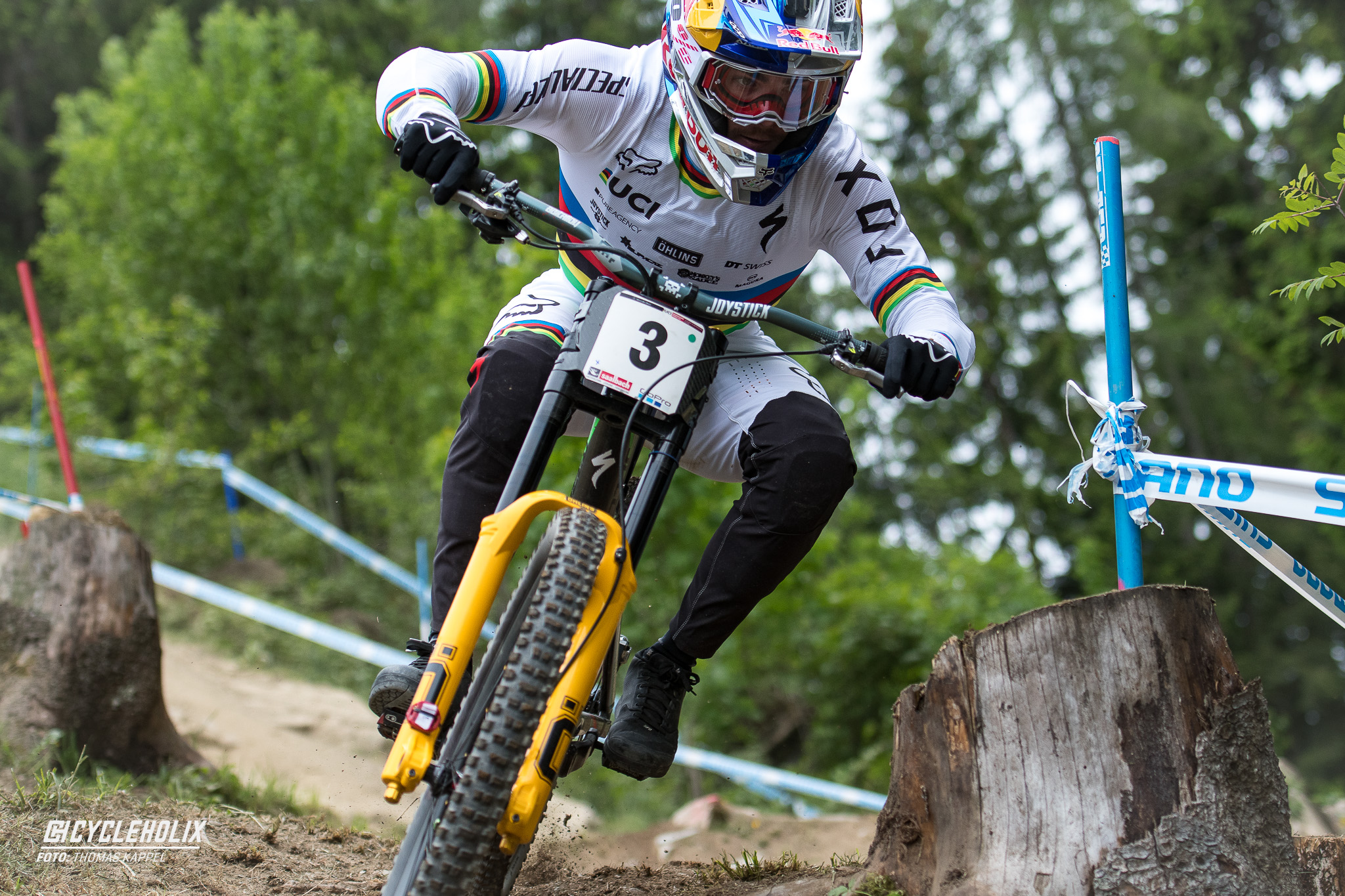 Loic Bruni Downhill Worldcup Leogang 2018