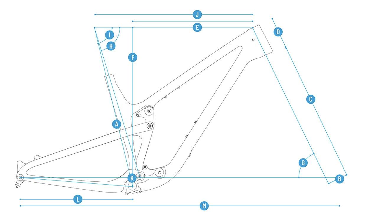 PROPAIN Hugene CF MY21 Geometry Cycleholix