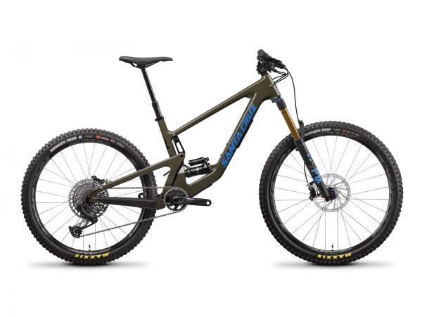 MY22 Bronson4 CC XO1 Green Cycleholix