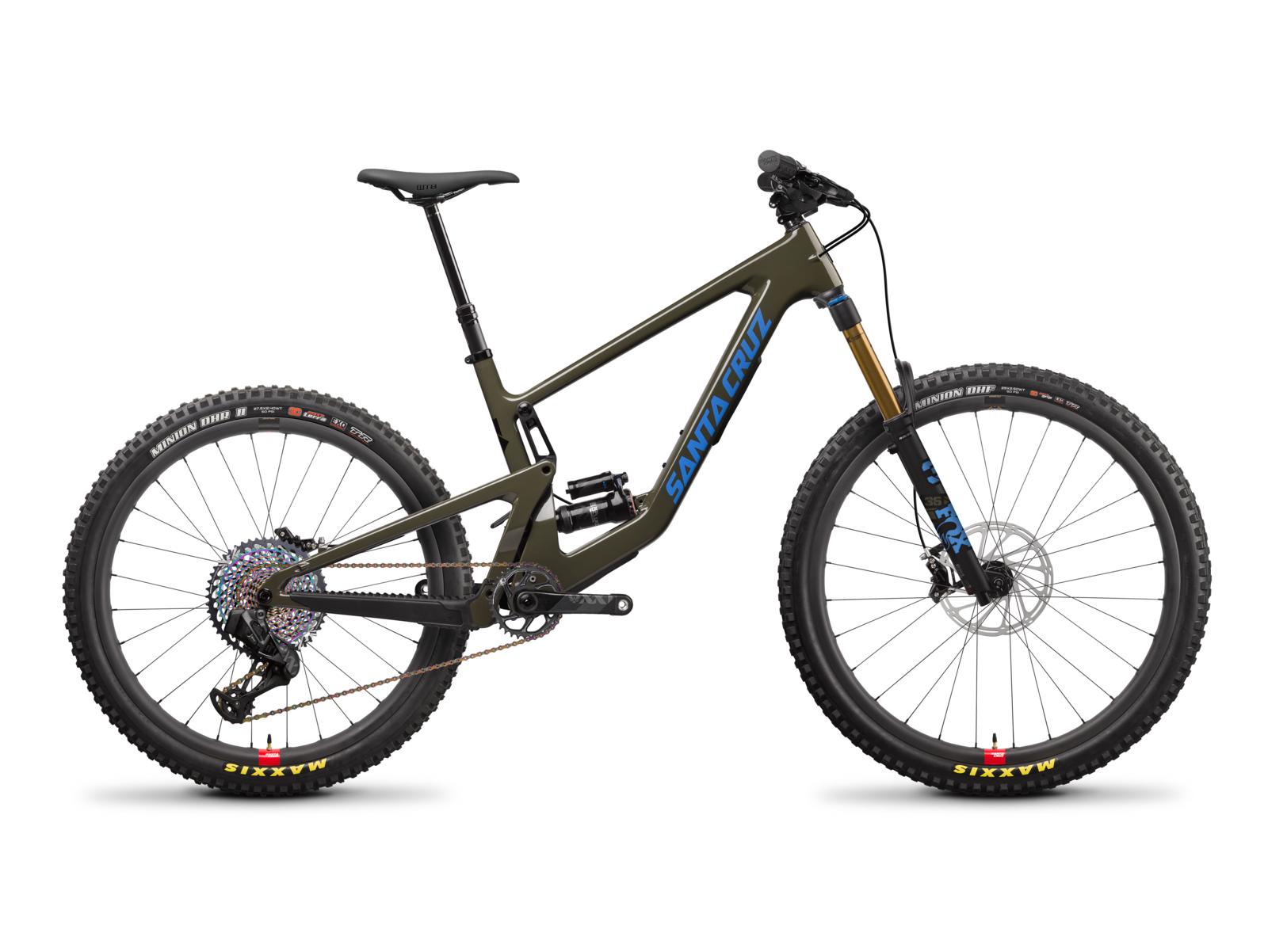 MY22 Bronson4 CC XX1 AXS RSV Green Cycleholix